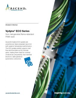 ECO series: Halogen-free PA66 resin