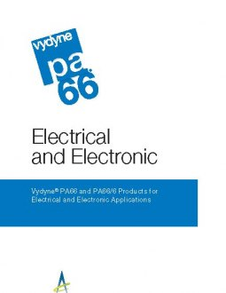 Products for electrical and electronic applications