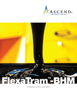 FlexaTram™-BHM formulated amines