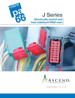 J series: electrically neutral and heat stabilized PA66